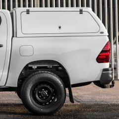 Truckman RS-3 Hardtop Canopy (Glazed Rear) Remote Locking, Toyota Hilux Mk8-9 (2016 Onwards) Double Cab
