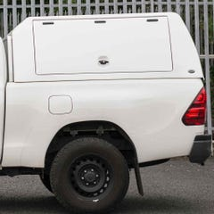 Truckman Utility Hardtop Canopy (Solid Rear) Toyota Hilux Mk8-9 (2016 Onwards) Extra Cab