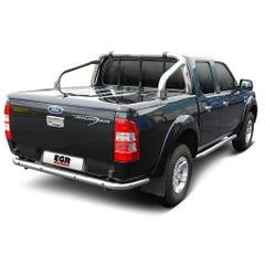 EGR Sports Tonneau Cover (3pc)  Ranger D/Cab (12 on) Unpainted