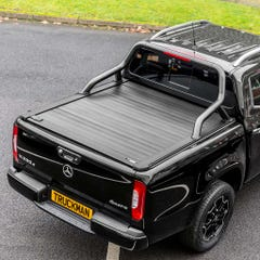 Truckman Retrax Tonneau Cover + Black Roll Bar for Mercedes X-Class