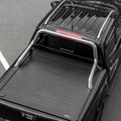 Truckman Retrax Tonneau Cover + Steel Roll Bar Isuzu D-Max (2012+) Double Cab
