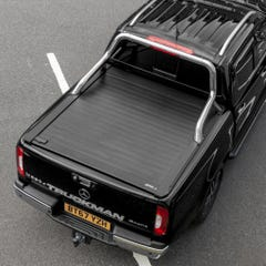 Truckman Retrax Tonneau Cover + Stainless Steel Roll Bar for Mercedes X-Class