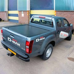 Full Metal Jack Rabbit Roller Tonneau Cover D-Max Mk4-5 (12-20) Double Cab