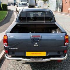 Full Metal Jack Rabbit Roller Tonneau Cover L200 Mk6 (06-09) Double Cab