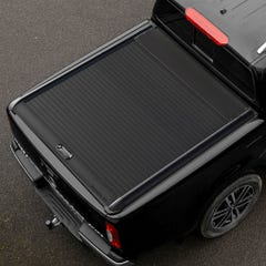 Mountain Top Black Roller Tonneau Cover Mercedes X-Class (18 on) DC