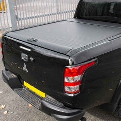 Mountain Top Black Roller Tonneau Cover L200/Fullback Mk8-9 (15 on) DC