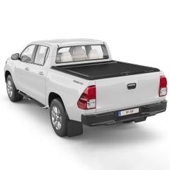 Mountain Top Black Roller Tonneau Cover Hilux Mk8 (16 on) DC