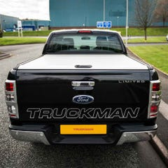 Mountain Top Silver Roller Tonneau Cover Ford Ranger Mk5-7 (12 on) DC