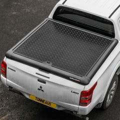 Truckman Black Aluminium Lift Up Tonneau Cover L200 Mk8-9 (15 on) DC