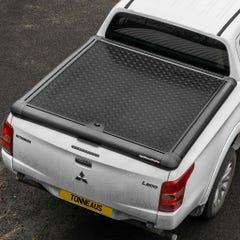 Truckman Black Aluminium Lift Up Tonneau Cover L200 Mk8-9 (15 on) DC