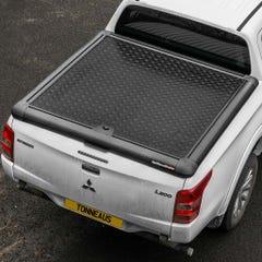 Truckman Black Aluminium Lift Up Tonneau Cover L200 Mk8-9 (15 on) EC