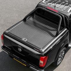 Truckman Black Aluminium LiftUp Tonneau Cover & Rollbar Navara NP300 (16 on) DC