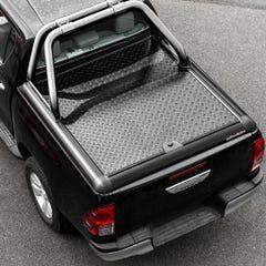Truckman Black Aluminium LiftUp Tonneau Cover & Rollbar Hilux Mk8-9 (16 on) DC