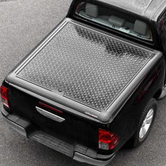 Truckman Black Aluminium Lift Up Tonneau Cover Hilux Mk8 (16 on) EC