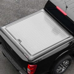 Truckman Silver Aluminium Lift Up Tonneau Cover Mercedes X-Class (18-21) DC
