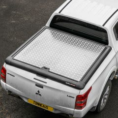 Truckman Silver Aluminium Lift Up Tonneau Cover L200 Mk8-9 (15 on) DC