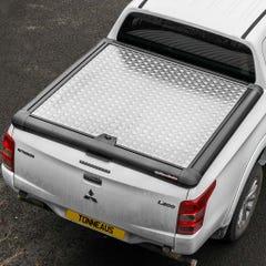 Truckman Silver Aluminium Lift Up Tonneau Cover L200 Mk8-9 (15 on) EC