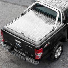 Truckman Silver Aluminium LiftUp Tonneau Cover & Rollbar Ranger Mk5-7 (12 on) EC
