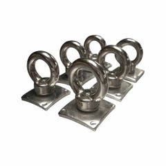 Stainless Steel Lashing Eyes (Set of 6) for Truckman Aluminium Tonneau Cover