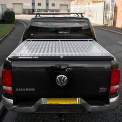 Mountain Top Style HD+ Aluminium Tonneau + Load Carrier Amarok Mk1-2 (10-21) DC