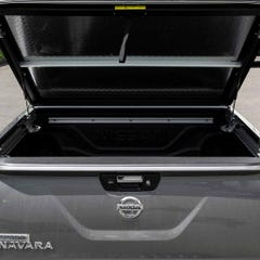 Mountain Top 2 Chequer Plate Lift Up Tonneau Cover NP300 (16 on) DC