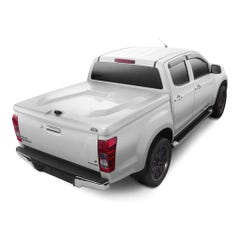 Max Hi-Line 180 Hard Tonneau Cover for D-Max Mk4-5 (12-20) Splash White 527 D/C