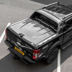 Max Hard Tonneau Cover for Ford Ranger Mk5-7 (2016+) Wildtrak Grey Double Cab