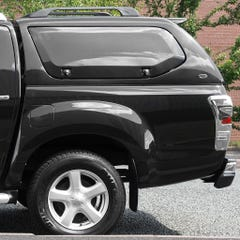 Truckman S-Series Hardtop Canopy (Solid Side Doors) Isuzu D-Max Mk6 (2021 Onwards) Double Cab
