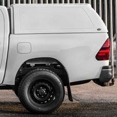 Truckman RS Hardtop Canopy Toyota Hilux Mk8-9 (2016 Onwards) Double Cab, Ladder Rack