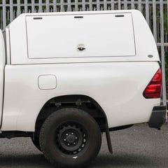 Truckman Utility Hardtop Canopy (Glazed Rear) Toyota Hilux Mk8-9 (2016 Onwards) Extra Cab