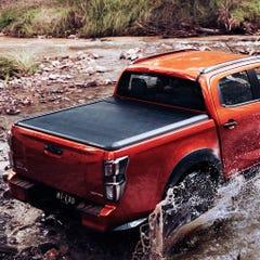 Mountain Top EVOe Black Electric Roller Shutter Tonneau Cover Ford Ranger Wildtrak Mk5-7 (2012 Onwards) Double Cab