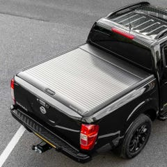Mountain Top Black Roller Tonneau Cover Nissan Navara NP300 (2016 Onwards) Extra Cab
