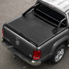Mountain Top Black Roller Tonneau Cover Amarok Mk1-2 (10-21) DC