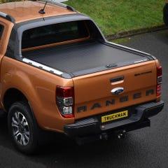 Mountain Top Black Roller Tonneau Cover Ford Ranger Wildtrak Mk5-7 (2012 Onwards) Double Cab