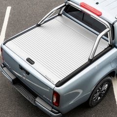 Mountain Top Silver Roller Tonneau Cover Mercedes X Class (2018 - 2021) Double Cab