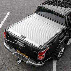 Mountain Top Roller Silver Tonneau Cover L200 Mk8-9 (2015 Onwards) Extra Cab