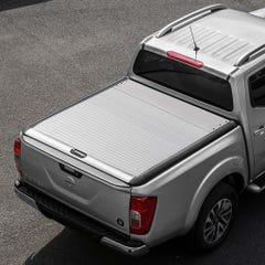 Mountain Top Silver Roller Tonneau Cover Nissan Navara NP300 (2016 Onwards) Double Cab