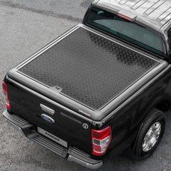 Truckman Aluminium Lift-Up Tonneau Cover (Black) Ford Ranger Mk5-7 (2012 Onwards) Double Cab