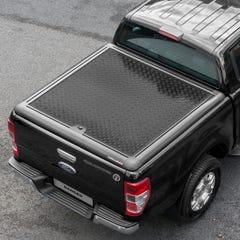 Truckman Aluminium Lift-Up Tonneau Cover (Black) Ford Ranger Mk5-7 (2012 Onwards) Extra Cab
