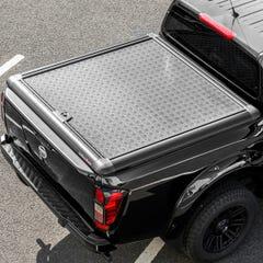 Truckman Aluminium Lift-Up Tonneau Cover (Black) Nissan Navara D40 Mk1-2 (2005 - 2015) Extra Cab