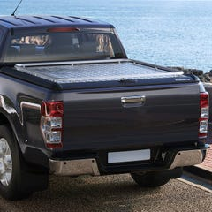 Mountain Top Style HD+ Chequered Aluminium Lift-Up Tonneau Cover Toyota Hilux Mk8-9 (2016 Onwards) Extra Cab