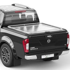 Mountain Top Style HD+ Lift Up Solid Aluminium Tonneau Cover Navara NP300 (2016 Onwards) Double Cab