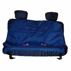 ASX Rear Seat Cover Navy Nissan D40/ Navara (05 on) DOUBLE CAB