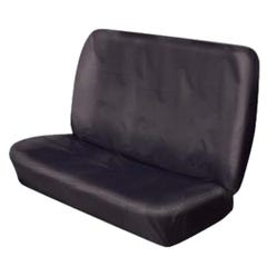 Hi Back Rear Seat Cover (One Piece) Black