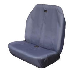 Hi Back Van Seat Covers Grey Bench Seat Double Stretch