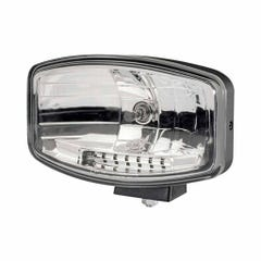 Hella Driving Lamp Jumbo 320FF with Side Positioning Light - Requires H7 Bulb