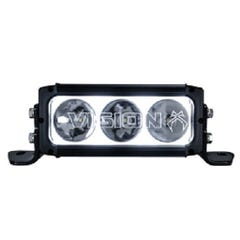 Vision X XPR-H3S Dual LED Light Bar Kit Isuzu D-Max Mk5 (2016-20)