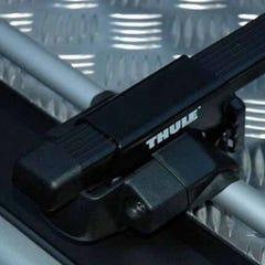 Thule Rapid Fit with Traditional Black Bar Full Wrap Aluminium Tonneau