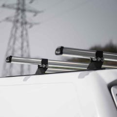 Truckman Hardtop Delta 2 Bar Roof Kit (800mm Long)