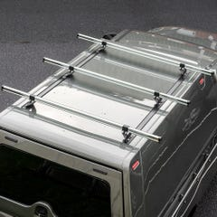 Truckman Hardtop Delta 3 Bar Roof Kit (1140mm Long)